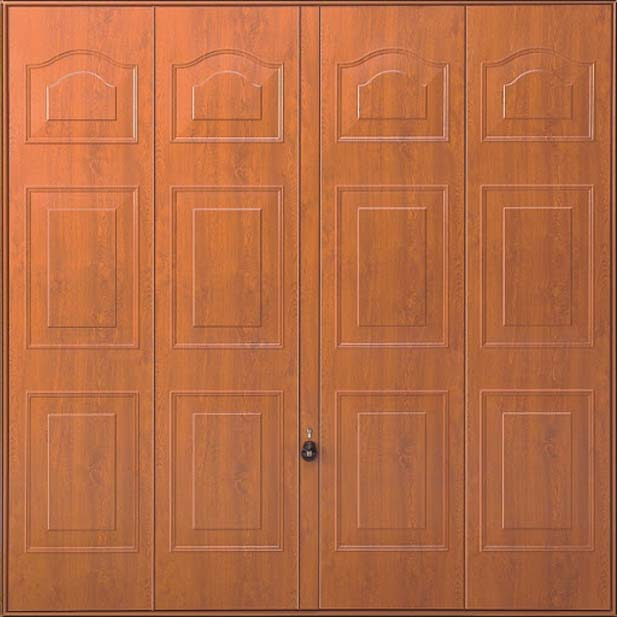 Steel Panel: Marquess Decograin GoldenOak or Rosewood